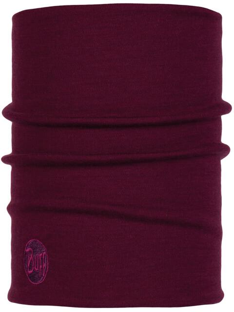 Buff Heavyweight Merino Wool Neck Tube Purple Raspberry